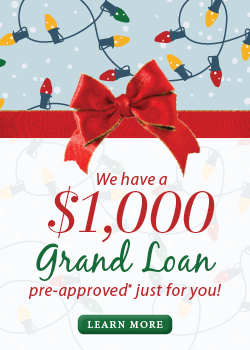 Grand Loan Info on What's New Page