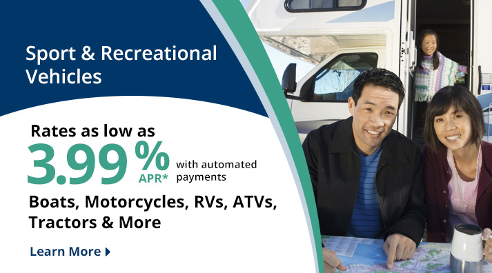 RiverLand FCU Recreational Vehicle Loans